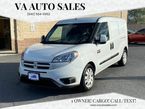 2017 RAM ProMaster City Cargo for sale at Va Auto Sales in Harrisonburg VA