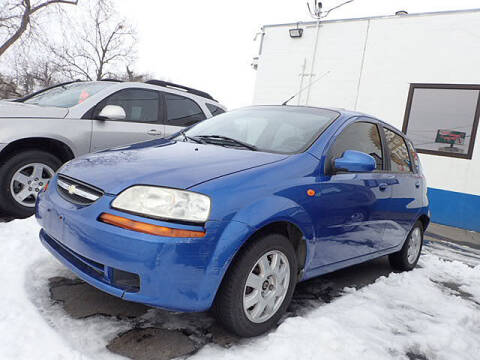 2004 Chevrolet Aveo for sale at Tommy's 9th Street Auto Sales in Walla Walla WA