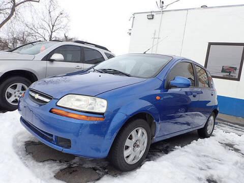 2004 Chevrolet Aveo for sale at Tommy's 9th Street Auto Sales in Walla Walla WA
