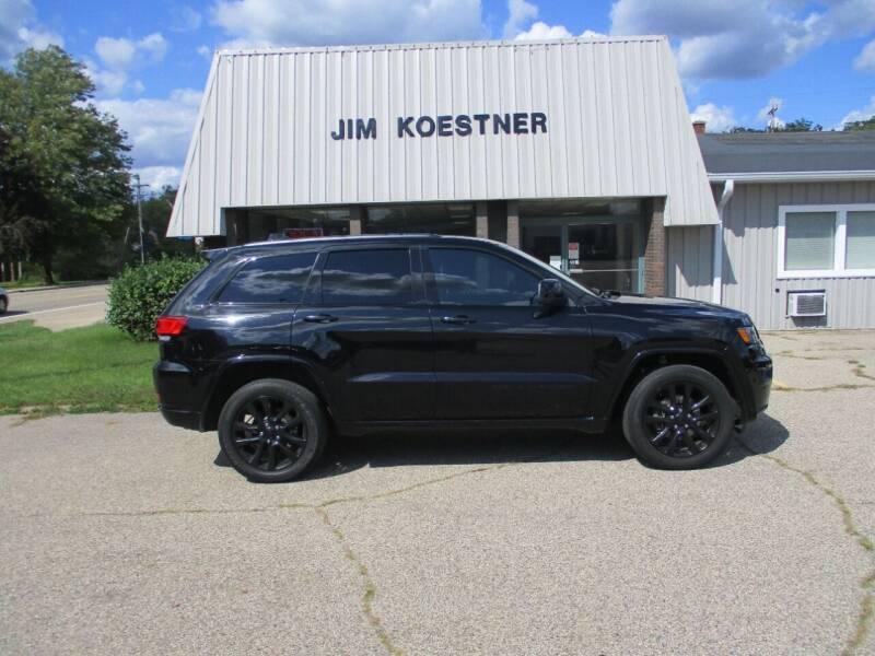 2019 Jeep Grand Cherokee for sale at JIM KOESTNER INC in Plainwell MI