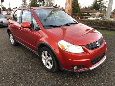 2008 Suzuki SX4 Crossover for sale at KARMA AUTO SALES in Federal Way WA
