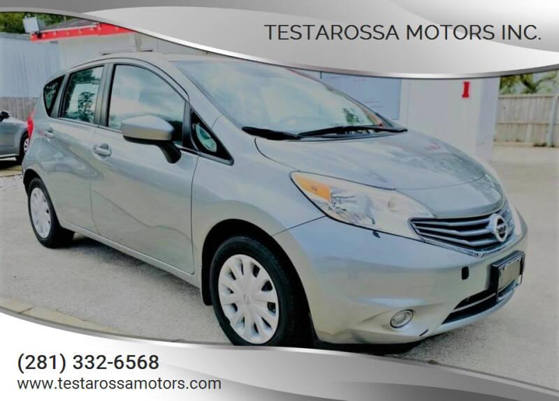 2015 Nissan Versa Note for sale at Testarossa Motors Inc. in League City TX