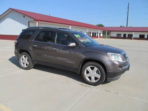 2008 GMC Acadia for sale at New Horizons Auto Center in Council Bluffs IA