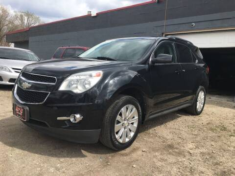 2010 Chevrolet Equinox for sale at A & J AUTO SALES in Eagle Grove IA