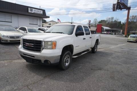2009 GMC Sierra 2500HD for sale at E-Motorworks in Roswell GA