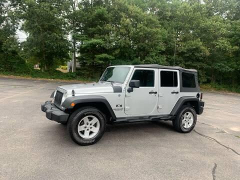 2008 Jeep Wrangler Unlimited for sale at Pristine Auto in Whitman MA