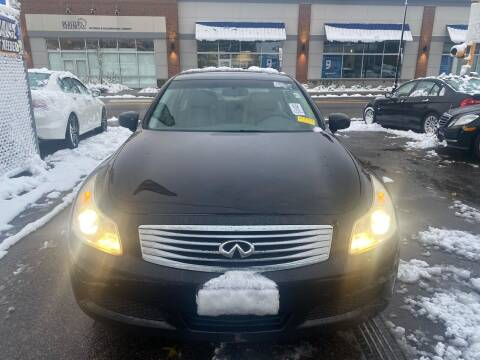 2008 Infiniti G35 for sale at Polonia Auto Sales and Service in Hyde Park MA