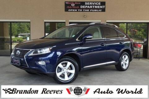 2013 Lexus RX 350 for sale at Brandon Reeves Auto World in Monroe NC
