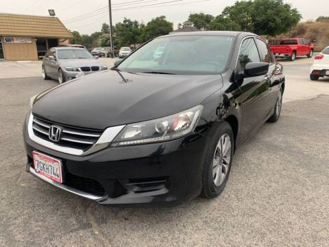 2014 Honda Accord for sale at Los Compadres Auto Sales in Riverside CA