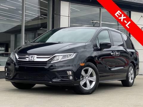 2018 Honda Odyssey for sale at Carmel Motors in Indianapolis IN
