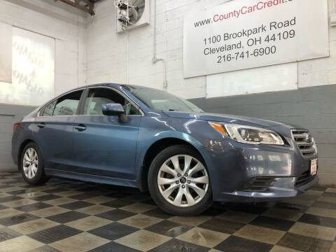 2015 Subaru Legacy for sale at County Car Credit in Cleveland OH