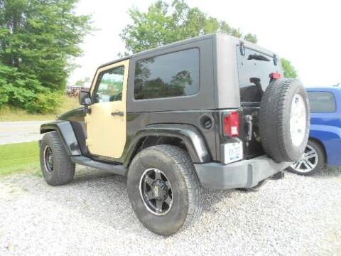 2009 Jeep Wrangler for sale at David Hammons Classic Cars in Crab Orchard KY