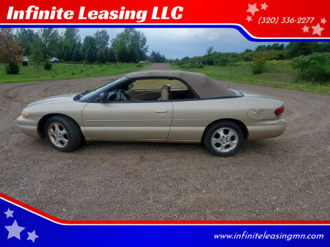 2000 Chrysler Sebring for sale at Infinite Leasing LLC in Lastrup MN