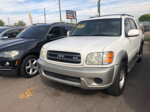 2002 Toyota Sequoia for sale at Valley Auto Center in Phoenix AZ