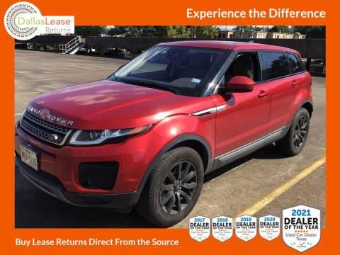 2019 Land Rover Range Rover Evoque for sale at Dallas Auto Finance in Dallas TX