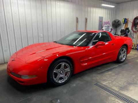 1999 Chevrolet Corvette for sale at Ryans Auto Sales in Muncie IN