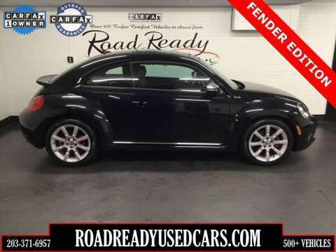 2013 Volkswagen Beetle for sale at Road Ready Used Cars in Ansonia CT