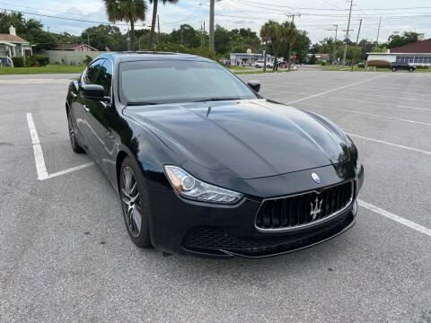 2015 Maserati Ghibli for sale at Consumer Auto Credit in Tampa FL