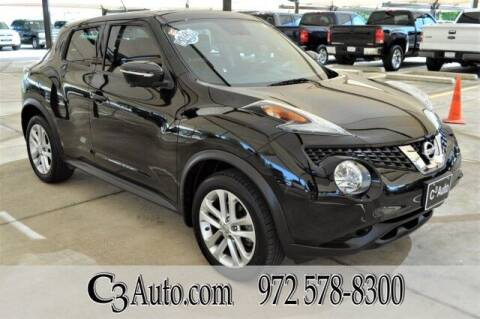 2016 Nissan JUKE for sale at C3Auto.com in Plano TX