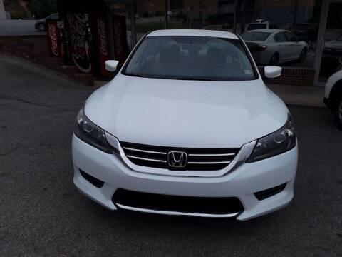 2013 Honda Accord for sale at Auto Villa in Danville VA