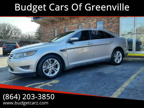 2010 Ford Taurus for sale at Budget Cars Of Greenville in Greenville SC
