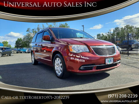 2014 Chrysler Town and Country for sale at Universal Auto Sales Inc in Salem OR