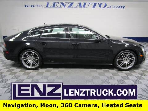 2014 Audi S7 for sale at LENZ TRUCK CENTER in Fond Du Lac WI