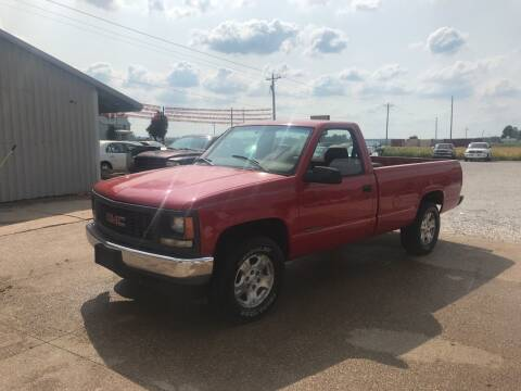 1998 GMC Sierra 1500 for sale at Family Car Farm in Princeton IN