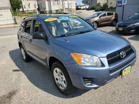 2010 Toyota RAV4 for sale at Fortier's Auto Sales & Svc in Fall River MA