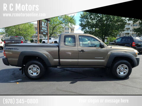 2009 Toyota Tacoma for sale at R C Motors in Lunenburg MA