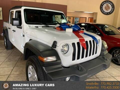 2020 Jeep Gladiator for sale at Amazing Luxury Cars in Snellville GA
