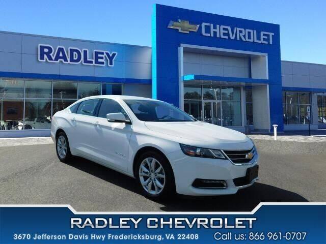 2019 Chevrolet Impala for sale at Radley Cadillac in Fredericksburg VA
