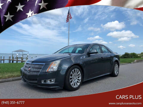 2010 Cadillac CTS for sale at Cars Plus in Sarasota FL