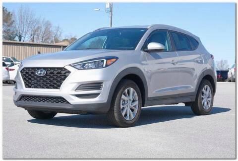2020 Hyundai Tucson for sale at WHITE MOTORS INC in Roanoke Rapids NC