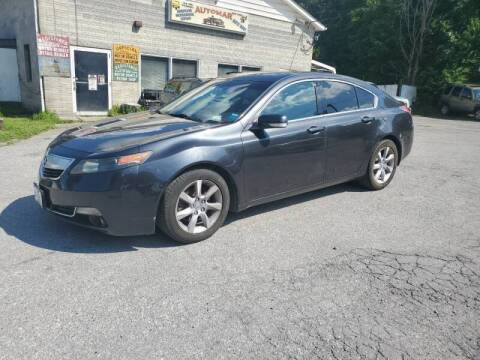 2013 Acura TL for sale at AUTOMAR in Cold Spring NY
