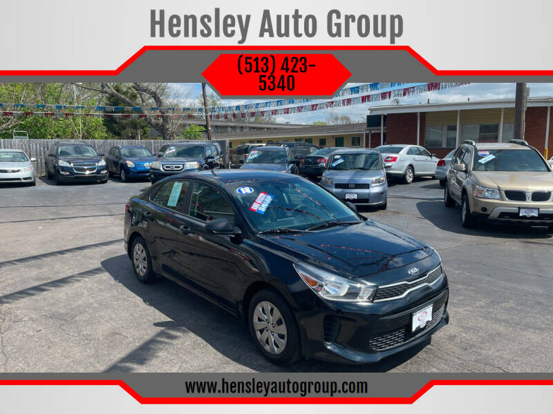 2018 Kia Rio for sale at Hensley Auto Group in Middletown OH