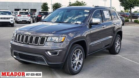 2020 Jeep Grand Cherokee for sale at Meador Dodge Chrysler Jeep RAM in Fort Worth TX