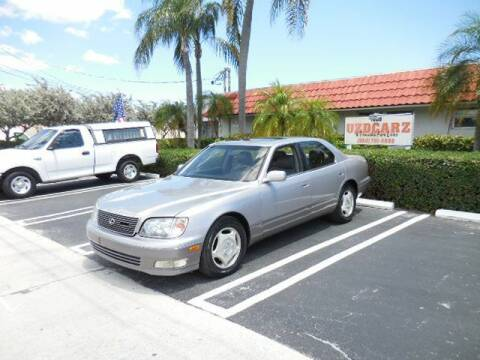 1998 Lexus LS 400 for sale at Uzdcarz Inc. in Pompano Beach FL