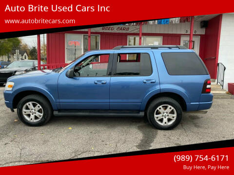 2009 Ford Explorer for sale at Auto Brite Used Cars Inc in Saginaw MI