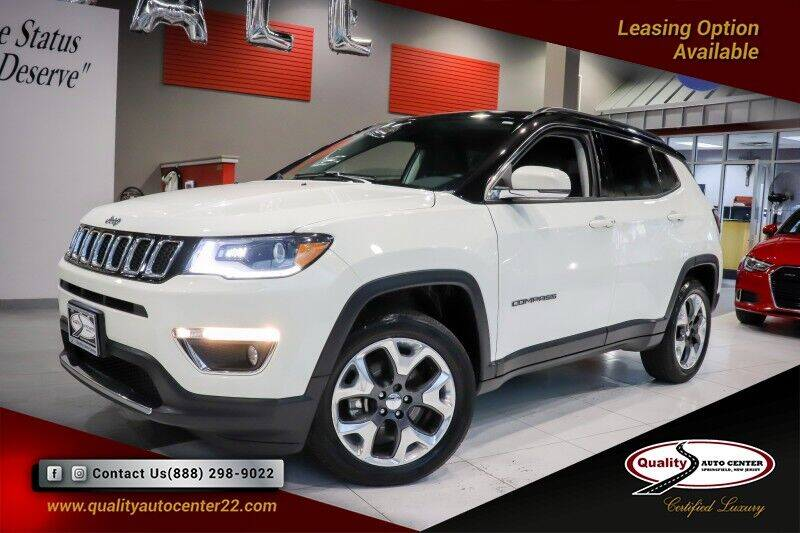 2018 Jeep Compass for sale at Quality Auto Center of Springfield in Springfield NJ