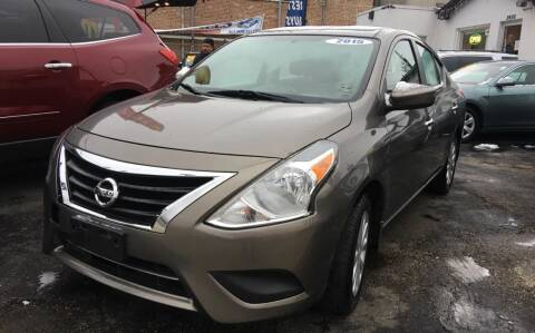 2015 Nissan Versa for sale at Jeff Auto Sales INC in Chicago IL