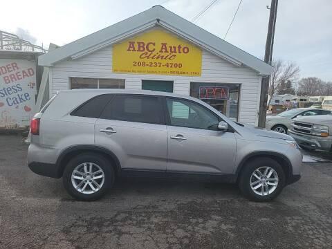 2014 Kia Sorento for sale at ABC AUTO CLINIC - Chubbuck in Chubbuck ID