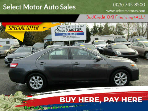 2011 Toyota Camry for sale at Select Motor Auto Sales in Lynnwood WA
