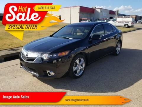 2013 Acura TSX for sale at Image Auto Sales in Dallas TX