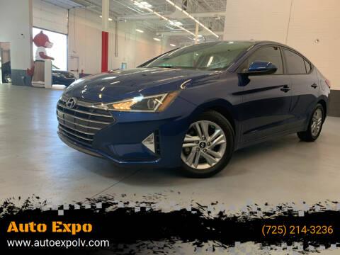 2020 Hyundai Elantra for sale at Auto Expo in Las Vegas NV