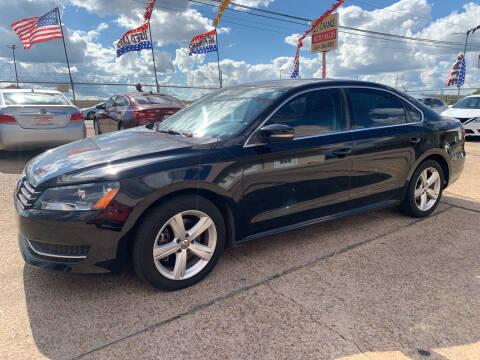 2013 Volkswagen Passat for sale at 2nd Chance Auto Sales in Montgomery AL