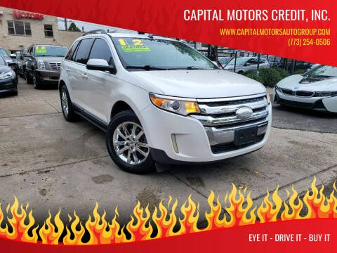 2012 Ford Edge for sale at Capital Motors Credit, Inc. in Chicago IL