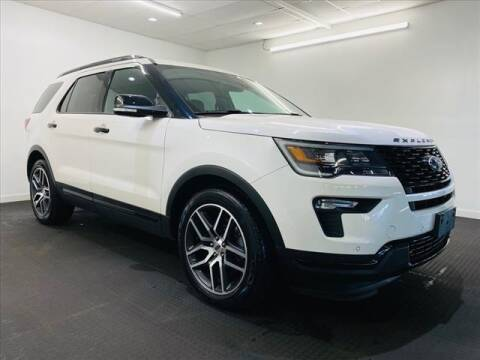 2018 Ford Explorer for sale at Champagne Motor Car Company in Willimantic CT