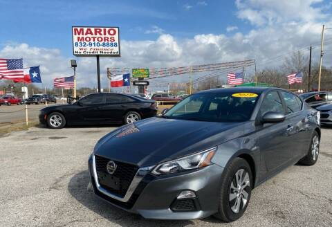 2019 Nissan Altima for sale at Mario Motors in South Houston TX
