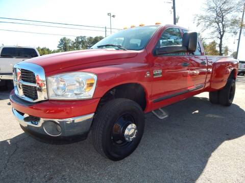 2007 Dodge Ram Pickup 3500 for sale at Medford Motors Inc. in Magnolia TX